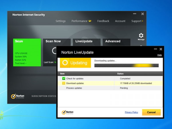 Norton Internet Security 2013 - Phần mềm diệt virus bản quyền 6 tháng
