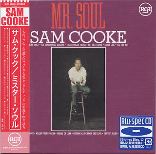 SAM COOKE - MR. SOUL (RCA VICTOR 1963) Jap Blu-Spec cd cardboard sleeve