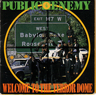 Public Enemy – Welcome To The Terrordome (3-Track CDS) (1989) (320 kbps)
