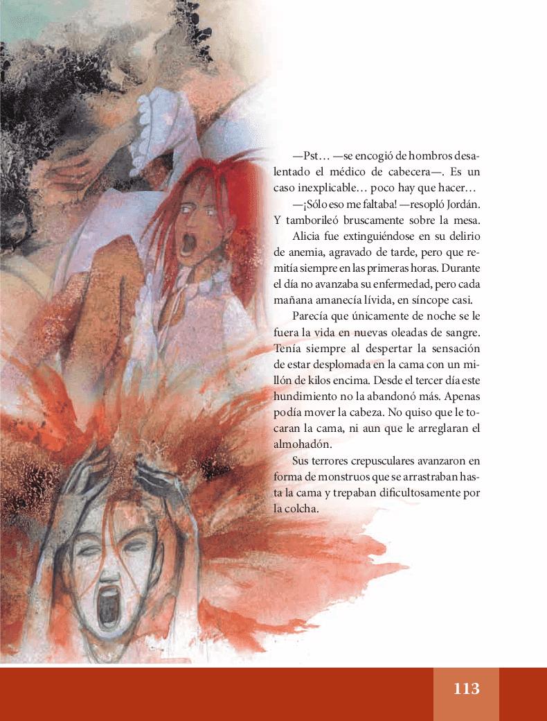 El almohadón de plumas - Español Lecturas 6to 2014-2015