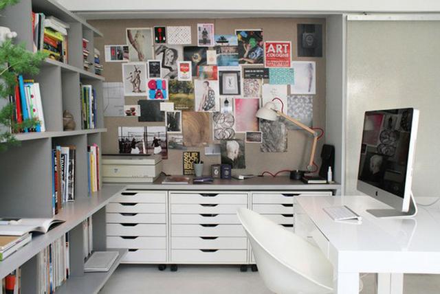 Lovers of mint blog d co boh me et cool lifestyle - Ikea bureau rangement ...