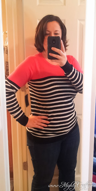 Rowson Colorblock Striped Sweater by 41Hawthorn -- Stitch Fix Love Jan 2014 -- www.mightycrafty.me
