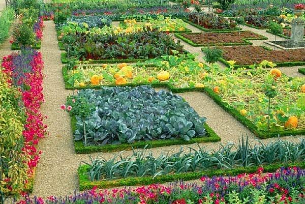 Il giardino delle naiadi orto giardino un 39 invenzione vecchia di secoli - L orto in giardino ...