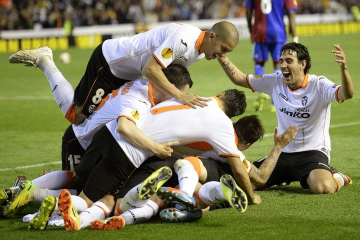 El Valencia le dio la vuelta al 3-0 de la ida