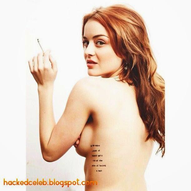 Has Jordan Hinson ever been nude? -