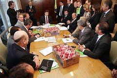 15/05/2012 - Audiência Ministro Mendes Filho