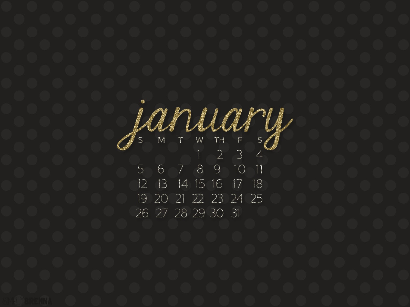 january 2014 calendar desktop