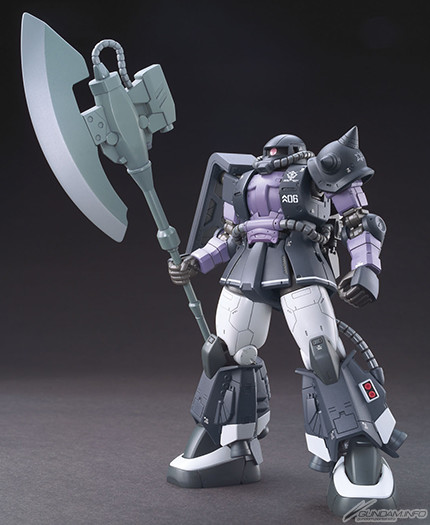 HG 1/144 Zaku II Black Tri-Star High Mobility Type Ortega Custom