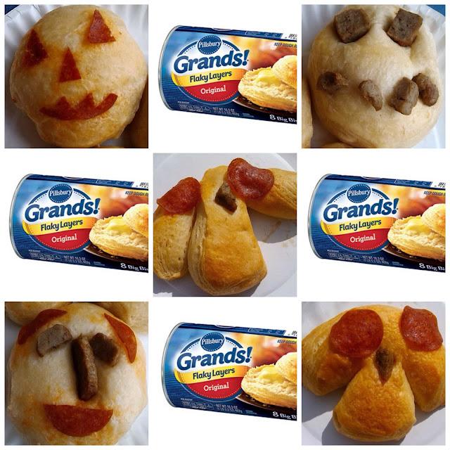 Grands!® Halloween Recipe Easy Edible Art Bento