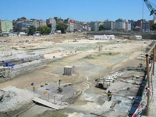 Yenikapı Marmaray Müzesi Antik Çağ Tüp geçit