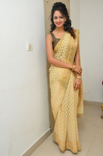 Shaniv in Saree Lovely Pics Tall Beauty