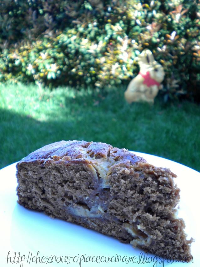 A casa nostra ci piace cucinare torta al cioccolato con crema alla cannella - Ci piace cucinare ...