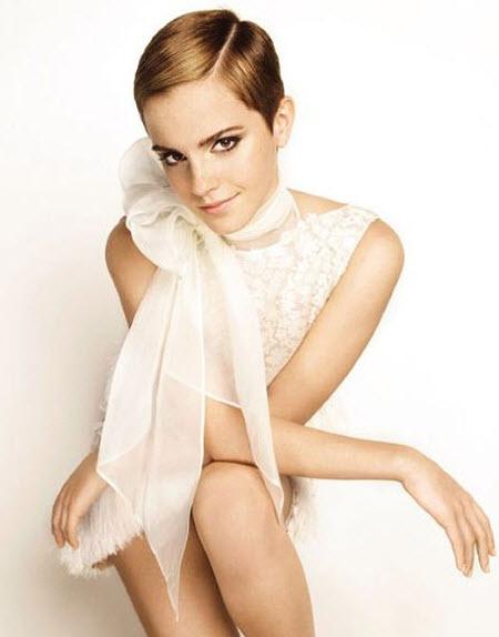 Solo Emma Watson con pelo corto