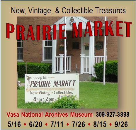 2015 Prairie Market Dates