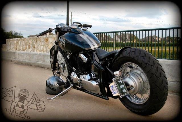 Blues Bikes Yamaha Dragstar 650 Night Stalker By Tail