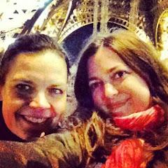 Us! Julia P. Valentine (R) & Nina Helmsmuller (L)