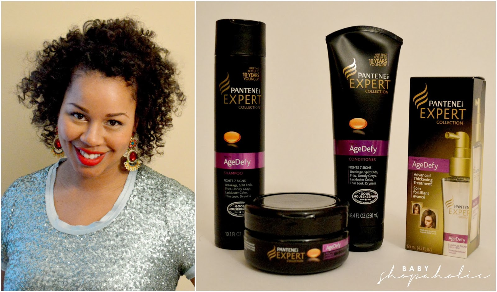 Holiday Hair With Pantene Agedefy Wantthathair Baby Shopaholic