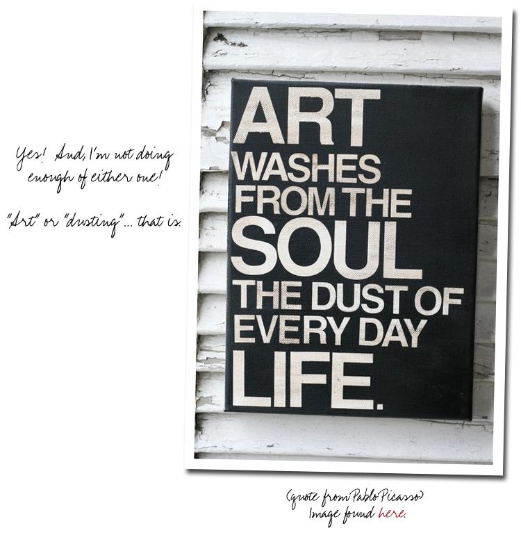 Pablo Picasso quote,
