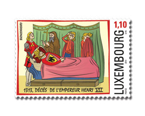 700th anniversary of the death of Henry VII - www.pt.lu