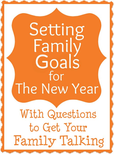 set goals for your family and make the most out of childhood