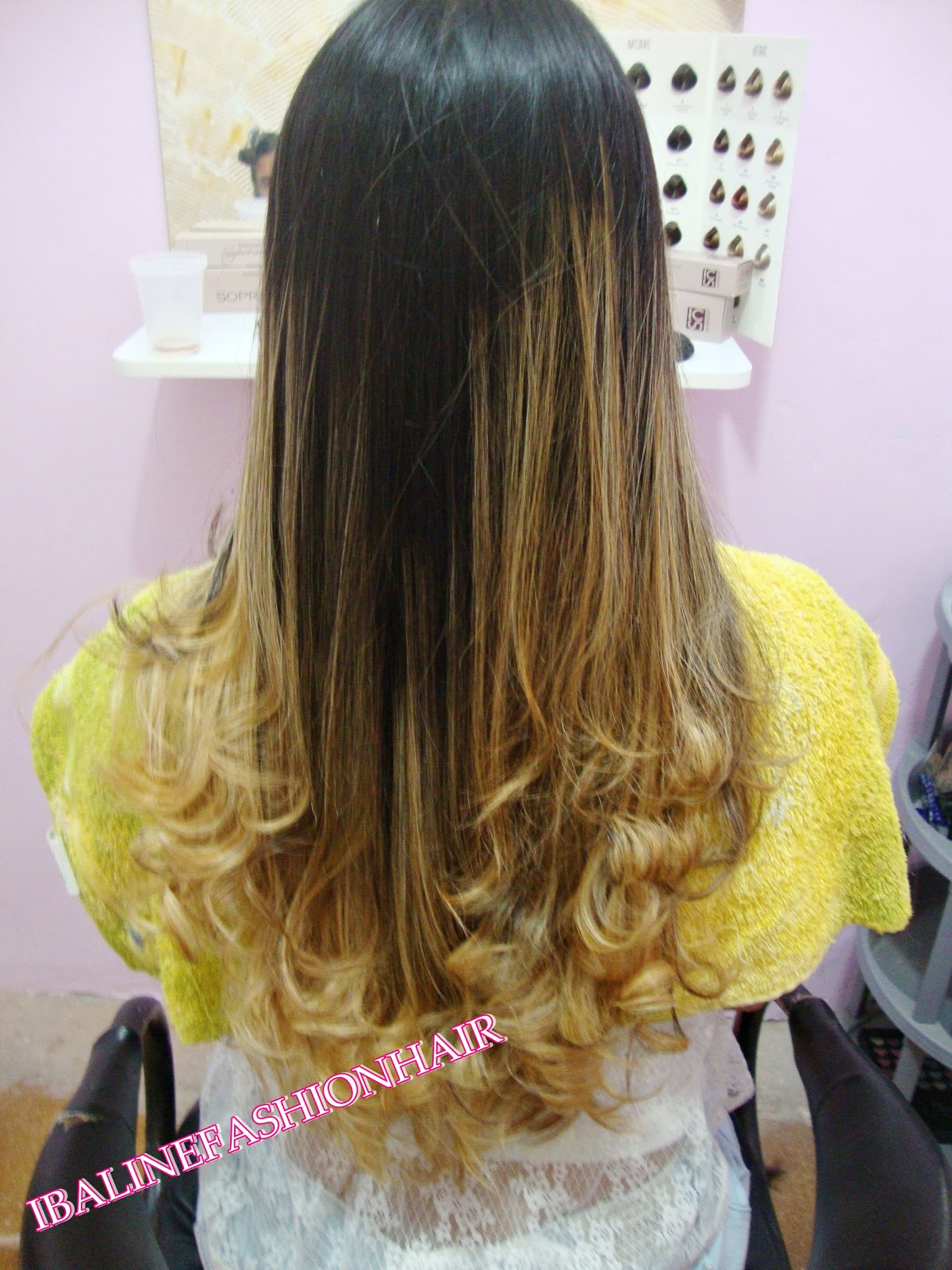Alinefashionhair Mechas Ombre Hair