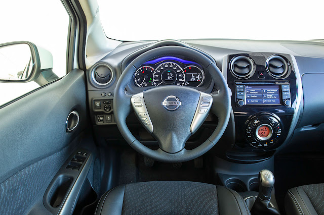 Nissan Note dash