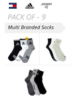 Buy Jockey Socks Set of 3 at Rs 149 Via shopclues :Buytoearn
