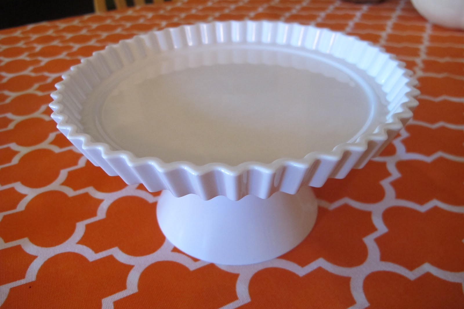 plastic cake stand target made with happy. Black Bedroom Furniture Sets. Home Design Ideas