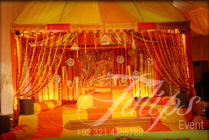 Best Pakistani Wedding Mehendi Stages