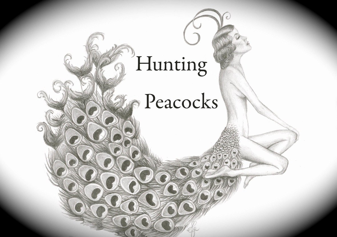 Hunting Peacocks - Millinery and hair accessories by Shelley Green