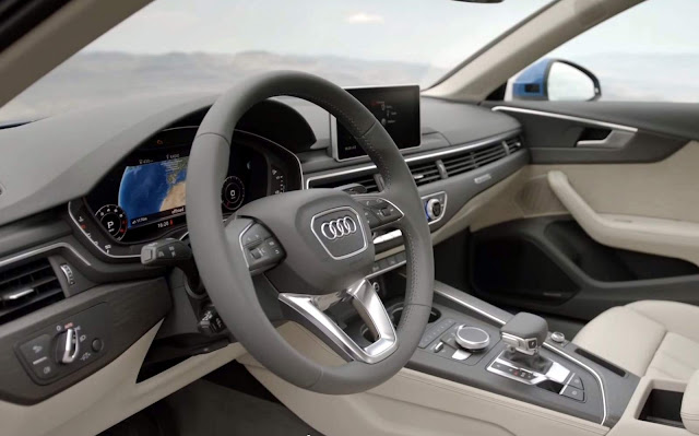 2016 all new Audi A4 - interior