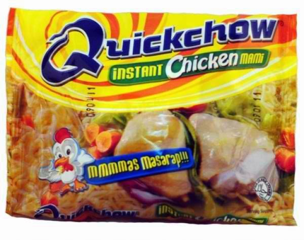 Quick Chow instant chicken mami noodles