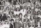 Anos 1960 - Festa caipira na quadra.