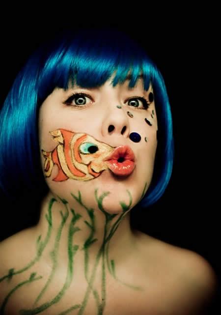 13 dise os impresionantes de pintura en la cara rinc n - Pintura cara halloween ...