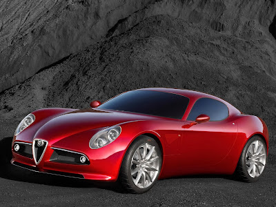 Red Alfa Remeo wallpaper