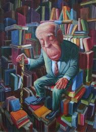 Borges y los libros