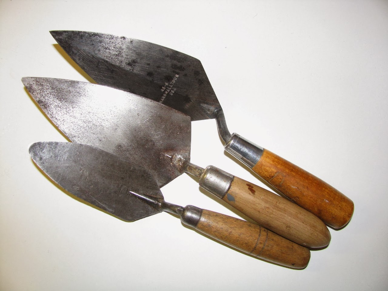 Masonry Trowel Types : Trowel and masonry tool collector resource pointing trowels