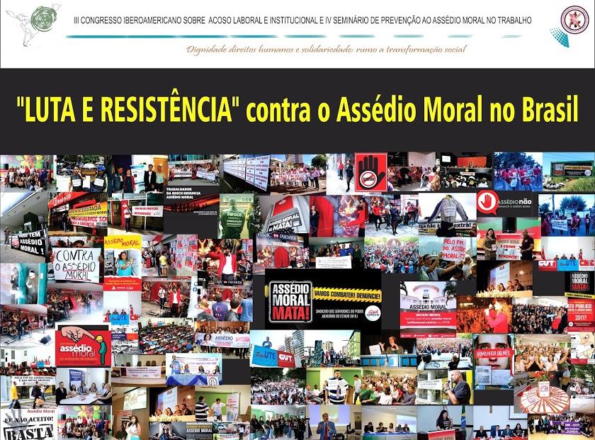 LUTA CONTRA O ASSÉDIO MORAL NO BRASIL