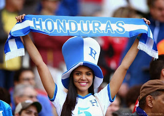 Les plus belles filles de la coupe du monde 2014