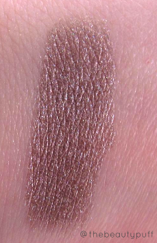 eve organics eyeshadow swatch - the beauty puff