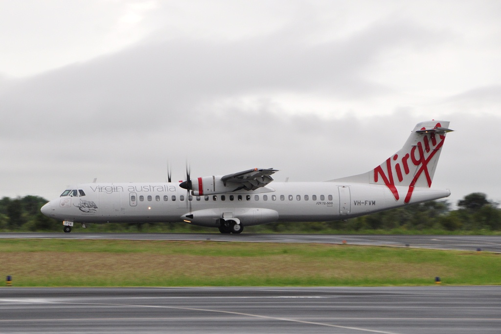Moranbah Australia  city photos : ... Moranbah Airport as Inaugural Virgin Australia Scheduled Service from