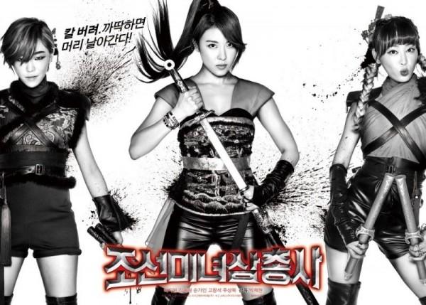 Ba Nữ Kiếm Khách Xinh Đẹp Thời Chosun The Huntresses