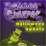 Subway Surfers v1.4.2 Helloween Update