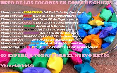 Reto Colores de Cosas de Chicas
