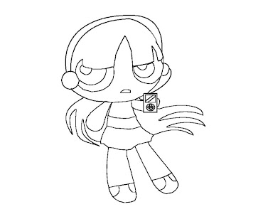 #2 Blossom Coloring Page