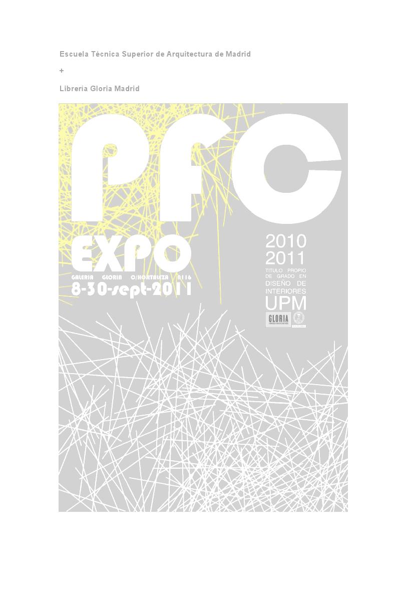 Arquitectura Critica Exposici N De Proyectos Fin De