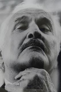 Carlos Fuentes @César Saldívar