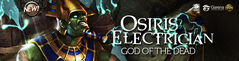 Osiris Electrician God Of The Dead HON Heroes Of Newerth