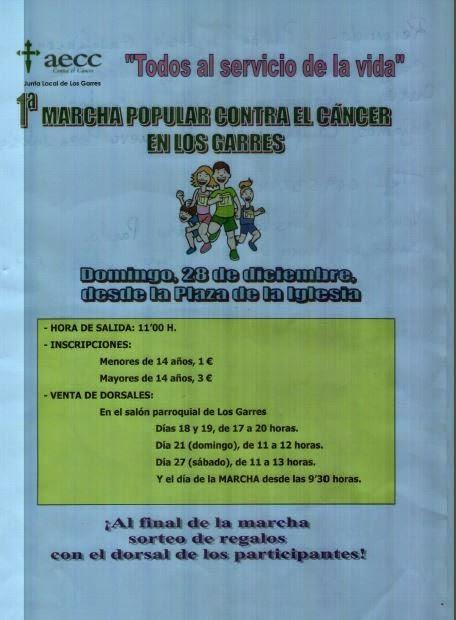 I MARCHA POPULAR CONTRA EL CÁNCER