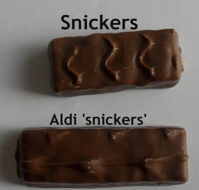 snickers aldi